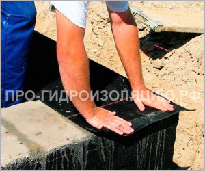 Гидроизоляция фундамента гаража своими руками