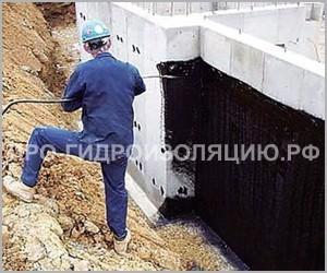 Гидроизоляция подвала снаружи от грунтовых вод