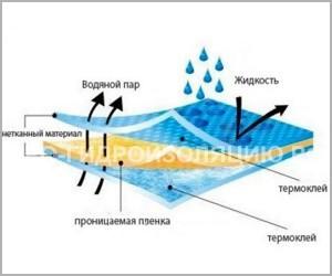 Правильная укладка пароизоляции спасет от влаги