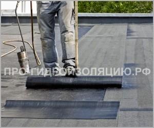 Гидроизоляция крыши гаража рубероидом