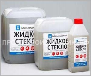 Жидкое стекло для бетона: пропорции, технология применения